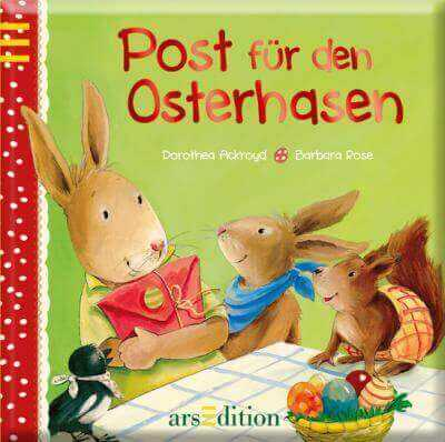 Post für den Osterhasen Barbara Rose