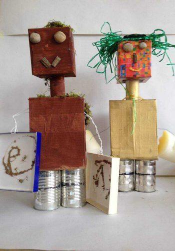 Literatur kreativ Roboter